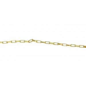 Gold Filled Venetian Box Chain 1.3mm x 2.8mm