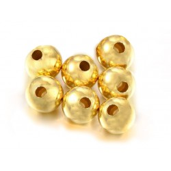 PACK OF, 14K G.F ROUND BEAD (6.1 mm)