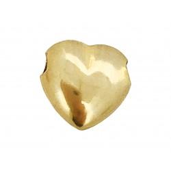 9K Yellow Gold Heart Bead 8.5mm