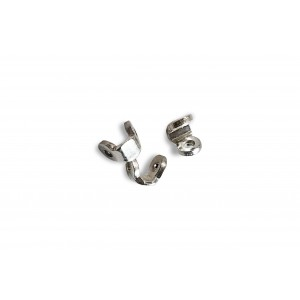 SILVER 925 LARGE, PLAIN BROOCH JOINT (HINGE)
