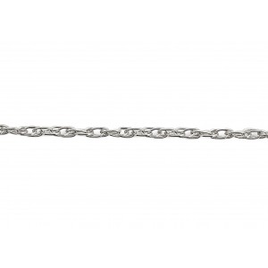 S925 Prince of Wales Fine Rope Chain