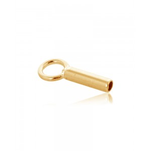 Gold Filled End Cap inside D 0.8mm