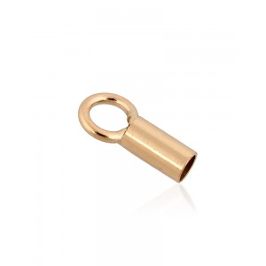 Gold Filled End Cap inside D 2.0mm