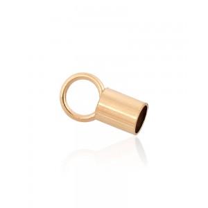 Gold Filled End Cap inside D 3.0mm