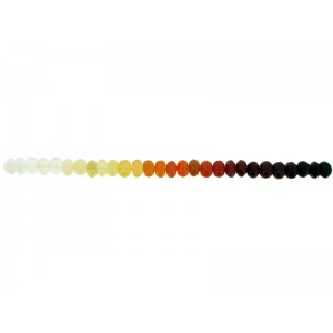 Mexican Fire Opal Faceted Rondelle Beads 7mm strand 5.25''