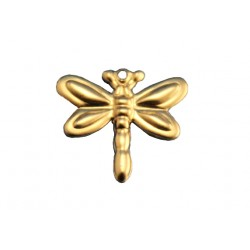 Gold Filled Dragonfly Charm, 12.5 x 14mm
