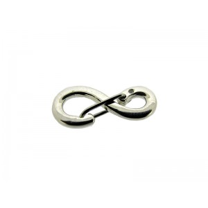 Sterling Silver 925 Figure of 8 'Sling' Clasp 14mm