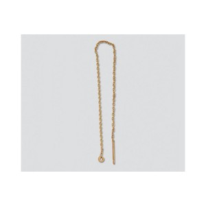 Gold Filled Threader Earring Cable Chain 4.5 inch