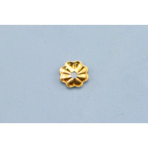 Gold Filled Bead Cap 4mm