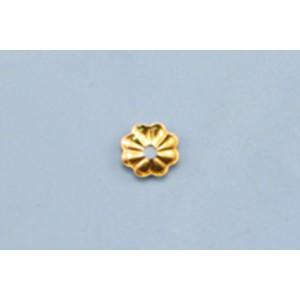 Gold Filled Bead Cap 4mm