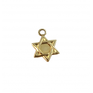 Gold Filled Star of David Charm 9mm