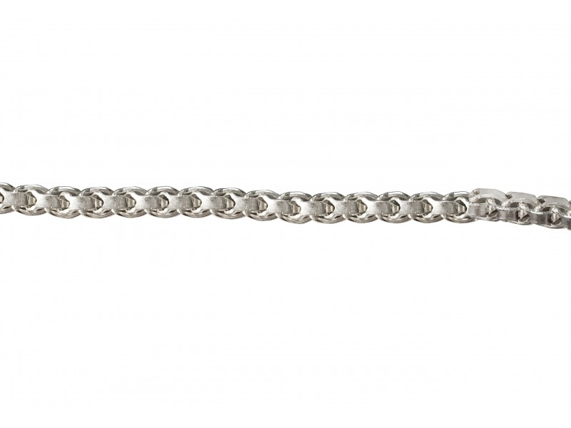 SILVER 925 DOVETAIL CHAIN, 2.6mm