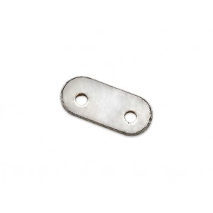 S925 2 HOLE SPACER BAR