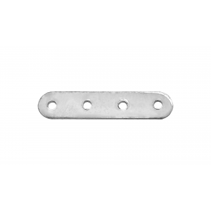 Silver 925 4 - HOLE SPACER, 19mm LONG