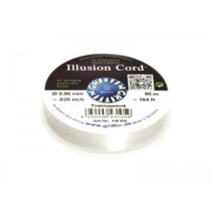 """GRIFFIN ILLUSION CORD 0.50mm (0.020""""), 50 mtrs roll"""