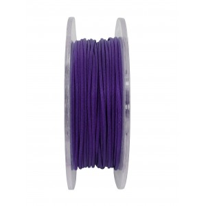 GRIFFIN WAXED COTTON CORD REEL, AMETHYST, 1.0mm x 20 mtrs