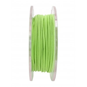 GRIFFIN WAXED COTTON CORD REEL, JADE GREEN, 1.0mm x 20 mtrs