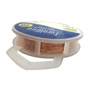 0.4MM COPPER NON TARNISH CRAFT WIRE ON REEL - 20 METERS