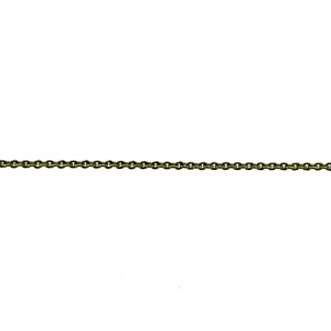 Brass Trace Chain 1.5mm x 2mm