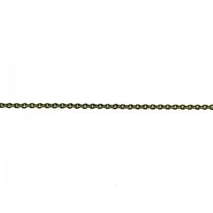 Brass Trace Chain 1.5mm x 2mm