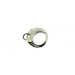 Sterling Silver 925 Filigree Clasp 25mm
