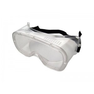Safety Goggles with elastic strap & anti-fogging vents AMTECH