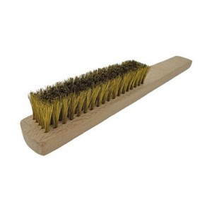 5-Row Brass Brush, Made in Germany