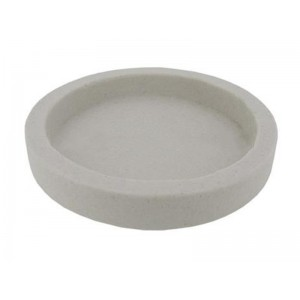 Borax Dish D100mm, 15mm depth, non glazed