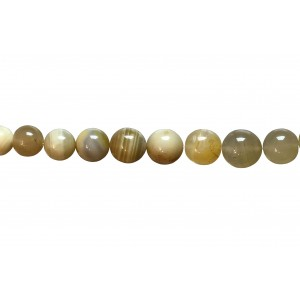 Agate Round Beads with lines