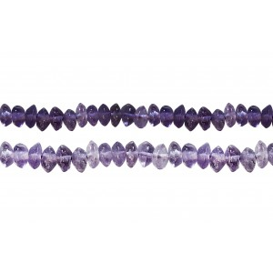 Amethyst Button Beads