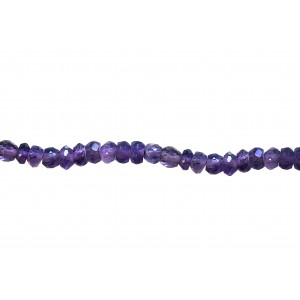 Amethyst Faceted Special Cut Beads, shaded