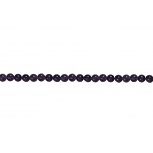 Amethyst Round Beads,  5 mm