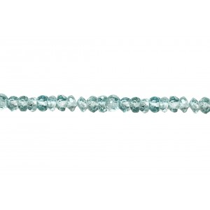 Apatite Faceted Round Beads