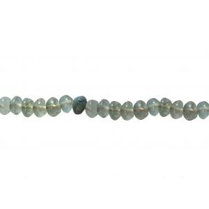 Aquamarine Button Beads