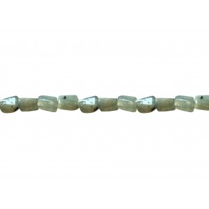 Aquamarine Tumble Beads- 11.8 mm * 7.3 mm
