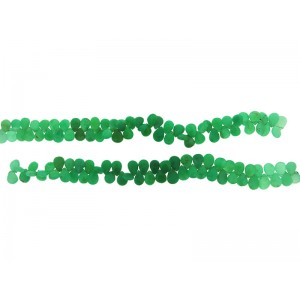 Chrysoprase Badamche Faceted Beads 7''
