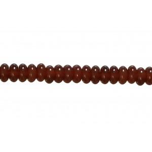 Carnelian Bati Beads, 8 mm