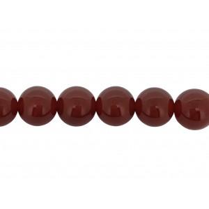 Carnelian Round Beads, 10 mm
