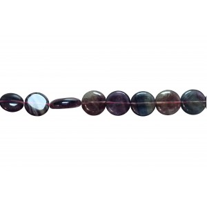 Fluorite Oval big size Beads