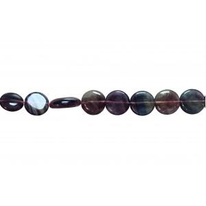 Fluorite Oval big size Beads