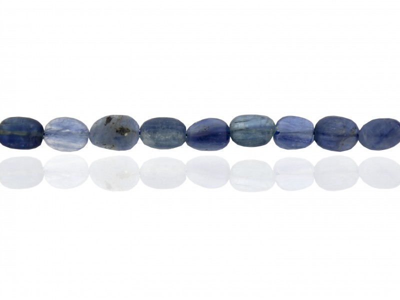 String of Beads- Kyanite Oval Beads