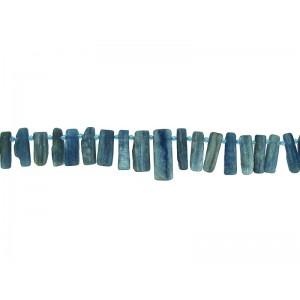 Kyanite Flat Stick Beads