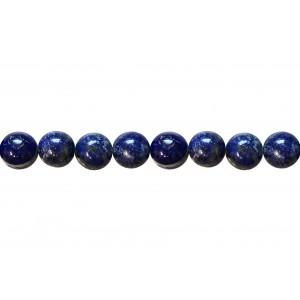 Lapis Round Beads, 12 mm