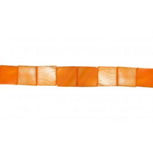 MOP Flat Square Beads, 13 x 18 mm