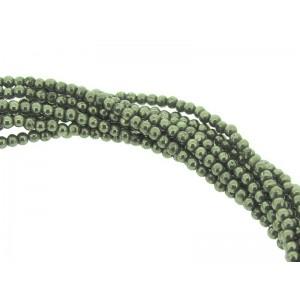 Pyrite Round Beads - 2mm