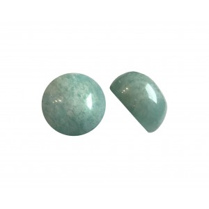 AMAZONITE CABS ROUND 11MM