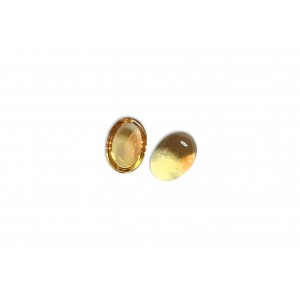 Citrine Cabs, Oval, 4 x 6 mm