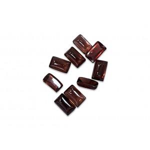 Garnet Cabs rectangle 3mm x  5mm