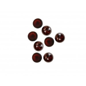 Garnet Cabs Round 4 mm