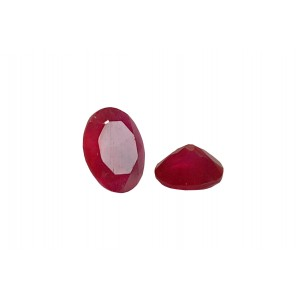 Agate Cut Stone, Pink , Oval, 7 x 9 mm